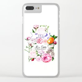 MissDior Perfume Clear iPhone Case