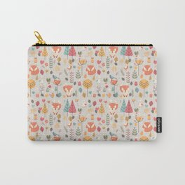 Baby fox pattern 05 Carry-All Pouch
