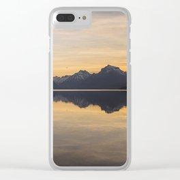 Lake McDonald (Glacier National Park) Clear iPhone Case