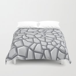 seamless stone background for design Duvet Cover