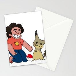 Steven & Mimikyu Stationery Cards