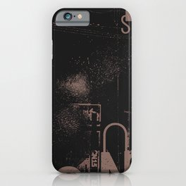 Typographical 27 iPhone Case