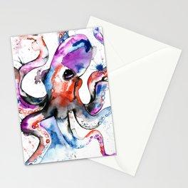 Octopus - Splatipus Stationery Cards