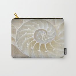 Nautilus Shell Carry-All Pouch