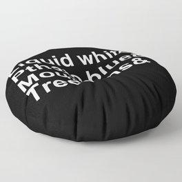 Bob Ross Ampersand Floor Pillow