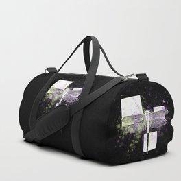 Cosmic dragonfly Duffle Bag