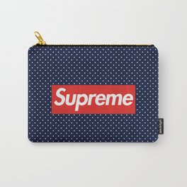 Supreme Polka Dot Pattern Carry-All Pouch