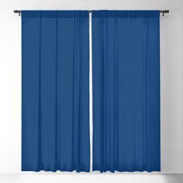 Galaxy Blue Solid Color Trend Autumn Winter 2019 2020 Blackout Curtain