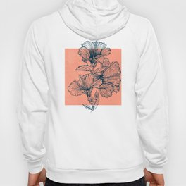 Hibiscus Colors Hoody