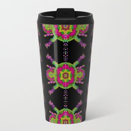 paradise flowers in a decorative jungle Travel Mug