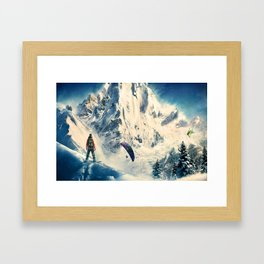 King of High Framed Art Print