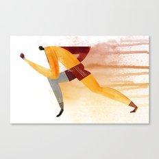 Runner (male) Canvas Print