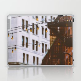 New York City Buildings and Lights (Color) Laptop & iPad Skin