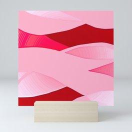 Pink Waves Mini Art Print
