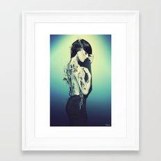 Fractured 02 Framed Art Print