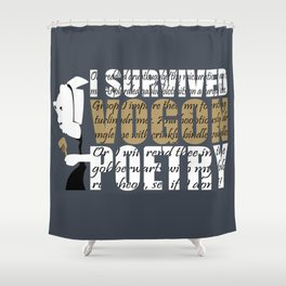 Vogon Poetry Shower Curtain