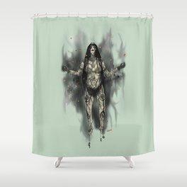 Enchantress - Suicide Squad Tribute Shower Curtain