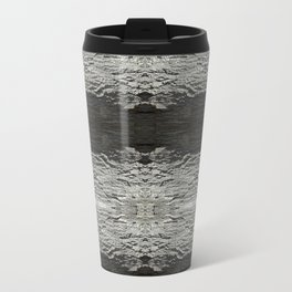 Oak Tree Bark Horizontal Nature Pattern by Debra Cortese Designs Travel Mug