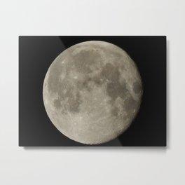 Alaskan Moon Metal Print