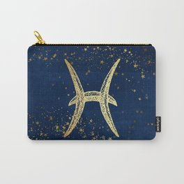 Pisces Zodiac Sign Carry-All Pouch