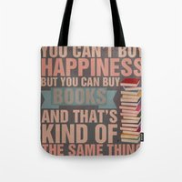 books Tote Bags featuring Books by thespngames