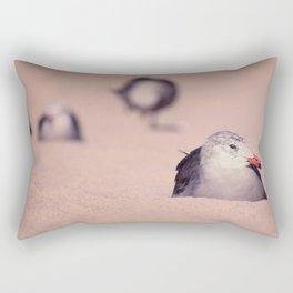 California Sea Birds Rectangular Pillow