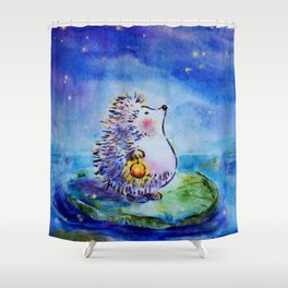 Finding My Star Shower Curtain