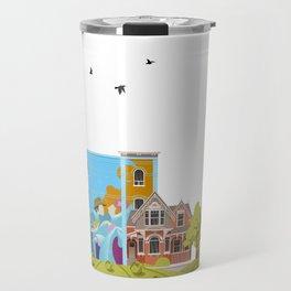 Cabbagetown - Toronto Neighbourhood Travel Mug