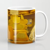 cheese Mugs featuring Cheese! by AuFish92024