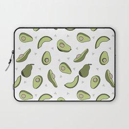 Avocado pattern by andrea lauren minimal cute fruit vegetable food print design Laptop Sleeve
