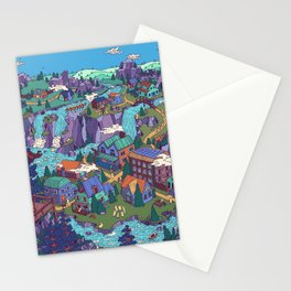 Try Not to Step on Anything This Time Stationery Cards