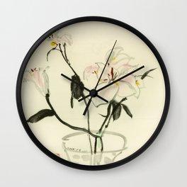 Wu Guanzhong 'Cloves' - 吴冠中 丁香 Wall Clock