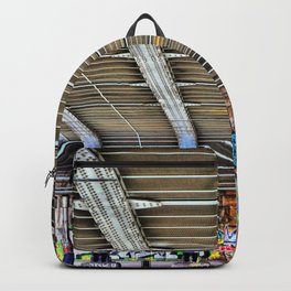 Graffitti Augarten Bridge Vienna Backpack
