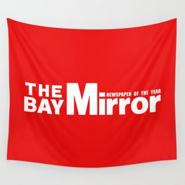 The Bay Miror Logo Wall Tapestry