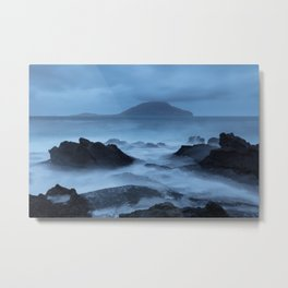 Moody morning Metal Print