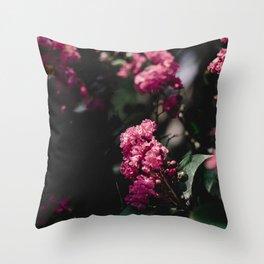 pinks iii Throw Pillow