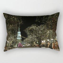 Church Street, Burlington Vermont Rectangular Pillow