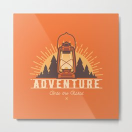 Adventure - Into the Wild Metal Print