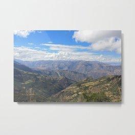Peru Metal Print
