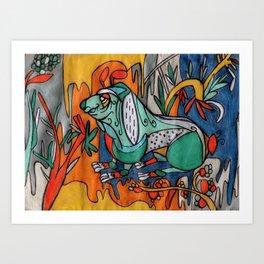 exp-a02 Art Print