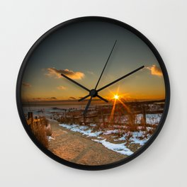 Pure Fire Wall Clock