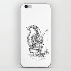 Alien gnome iPhone & iPod Skin