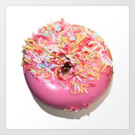 Craving Krispy Cremes Pink Art Print