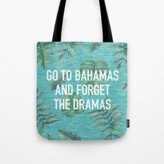 Go to Bahamas Tote Bag