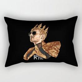 King Bill - White Text Rectangular Pillow
