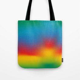 Abstract Colorful Aurora Tote Bag