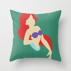 Ariel - The Little Mermaid Throw Pillow