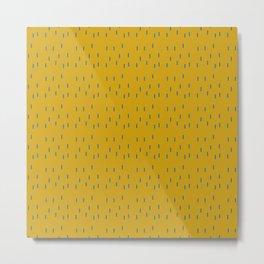mustard tic tac  Metal Print