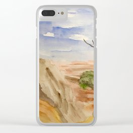 """""""South Rim Overlook"""" Clear iPhone Case"""