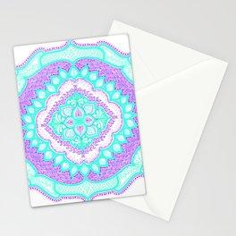 Mandala Floral Pattern Design Art Doodle Stationery Cards